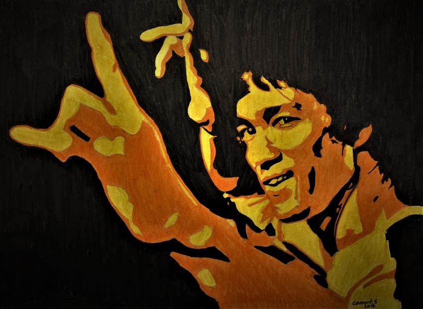 Bruce Lee par kornog